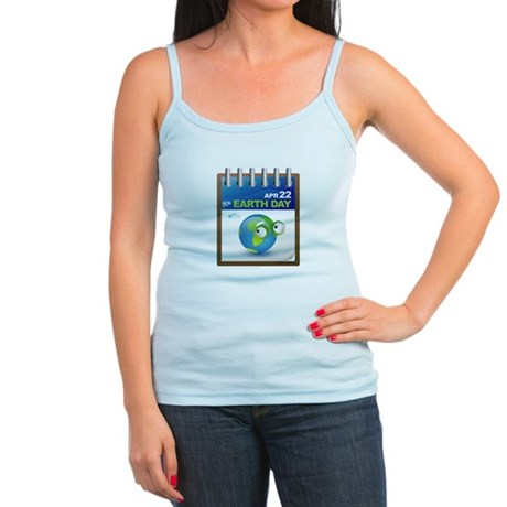 Earth Day - Diary Jr. Spaghetti Tank