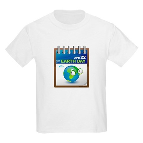 Earth Day - Diary Kids Light T-Shirt