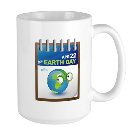 Earth Day - Diary Large Mug