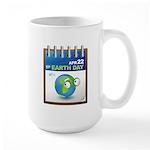 Earth Day - Diary Large Mug