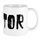 Mentor Faded (Black) Small Mug