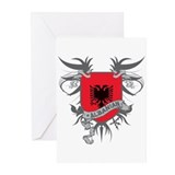 Albanian Wings Greeting Cards (Pk of 20)