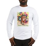 Blame it on the Dog Long Sleeve T-Shirt