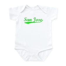 Vintage San Jose (Green) Infant Bodysuit