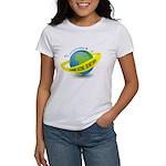 Planet Earth Crime Scene Women's T-Shirt