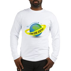 Planet Earth Crime Scene Long Sleeve T-Shirt