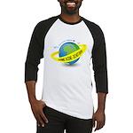 Planet Earth Crime Scene Baseball Jersey