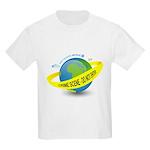 Planet Earth Crime Scene Kids Light T-Shirt