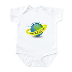Planet Earth Crime Scene Infant Bodysuit