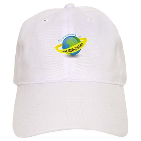 Planet Earth Crime Scene Cap