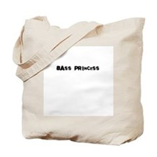 bass princess Tote Bag