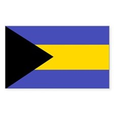 Bahamas Rectangle Sticker 10 pk)