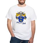 Cervantes Family Crest White T-Shirt