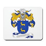 Cervantes Family Crest Mousepad
