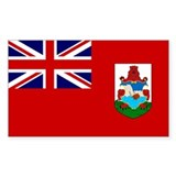 Bermuda Rectangle Sticker 50 pk)