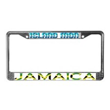 Unique Trinidad and tobago designs License Plate Frame