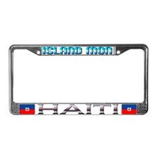 Funny Trinidad and tobago designs License Plate Frame