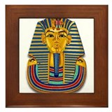 King Tut Mask #2 Framed Tile