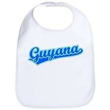 Retro Guyana (Blue) Bib