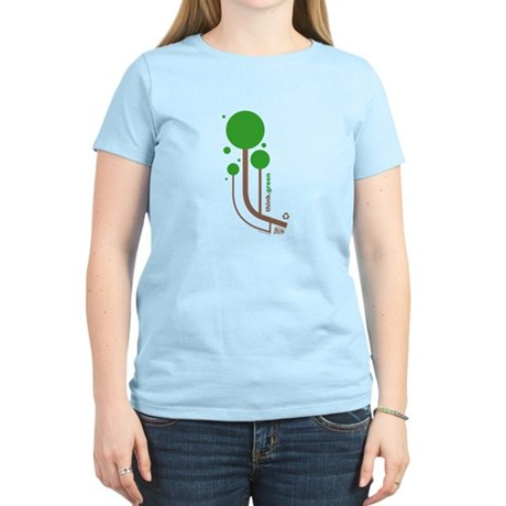 Green Thinker Women's Light T-Shirt