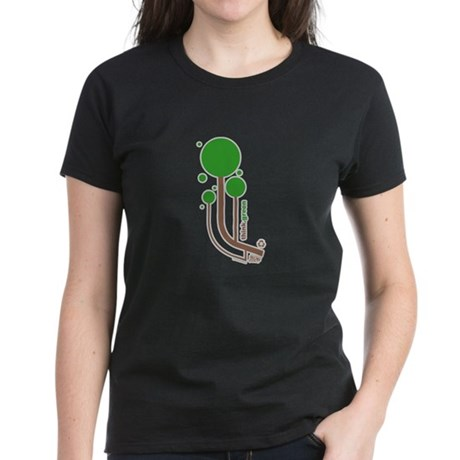 Green Thinker Women's Dark T-Shirt