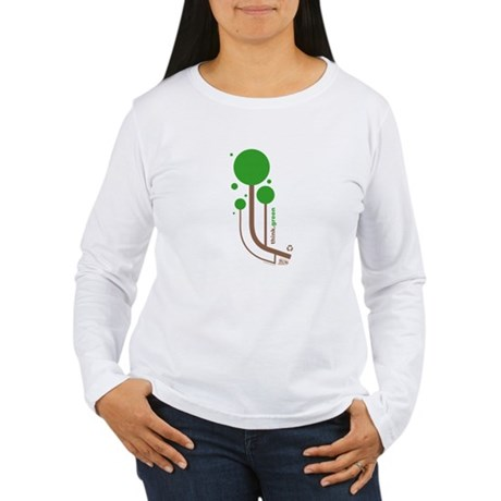 Green Thinker Women's Long Sleeve T-Shirt