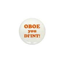 OBOE you DI'INT! Mini Button (10 pack)