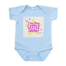 I'm the Little Sister Infant Bodysuit