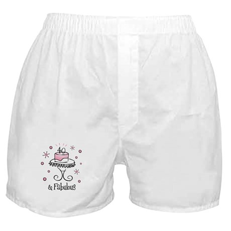 Fabulous 40 Boxer Shorts