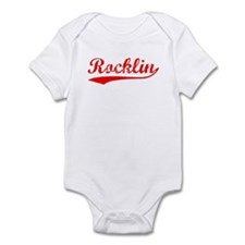 Vintage Rocklin (Red) Infant Bodysuit