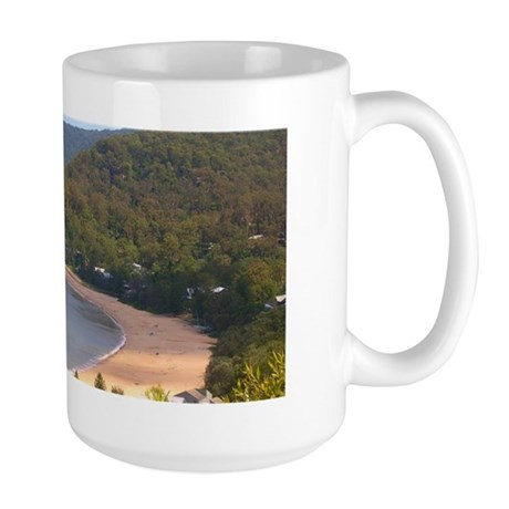 Pearl Beach, Central Coast Large Mug