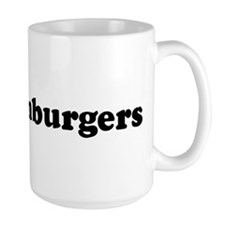 I Love Hamburgers Mug