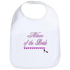 Niece of the Bride Bib