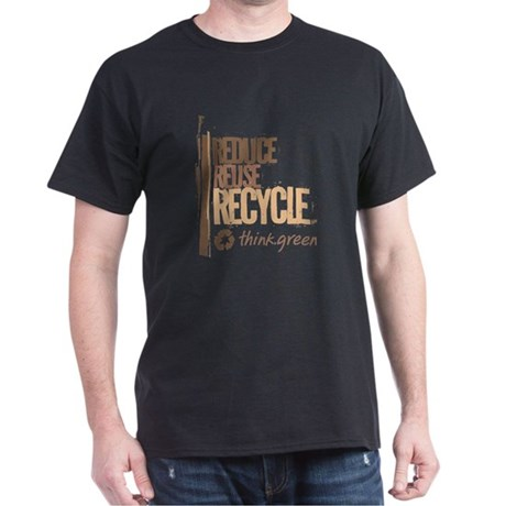 Reduce Reuse Recycle. Think G Dark T-Shirt