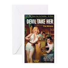 "Greeting (10)-""Devil Take Her"""