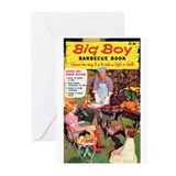 "Greeting (10)-""Big Boy Barbecue Book"""