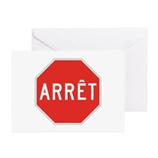 Stop, Quebec (CA) Greeting Cards (Pk of 10)