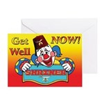 Shriners get well Greeting Card