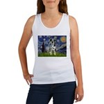 Starry / Catahoula Leopard Dog Women's Tank Top