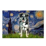 Starry / Catahoula Leopard Dog Postcards (Package