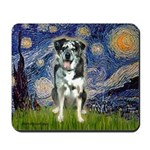 Starry / Catahoula Leopard Dog Mousepad