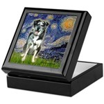 Starry / Catahoula Leopard Dog Keepsake Box