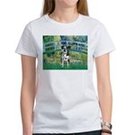 Bridge / Catahoula Leopard Dog Women's T-Shirt