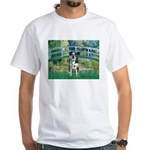 Bridge / Catahoula Leopard Dog White T-Shirt