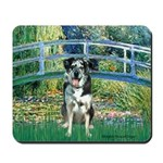 Bridge / Catahoula Leopard Dog Mousepad