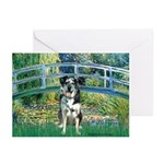 Bridge / Catahoula Leopard Dog Greeting Cards (Pk