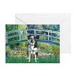 Bridge / Catahoula Leopard Dog Greeting Card