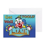 Masons Get Well Tool Kit Greeting Cards (Pk of 20)