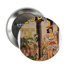 "Cuba Tourist 2.25"" Button (100 pack)"
