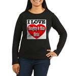 I Love Naughty & Nice Girls! Women's Long Sleeve D